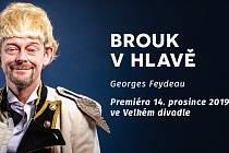 Premiéra inscenace Brouk v hlavě
