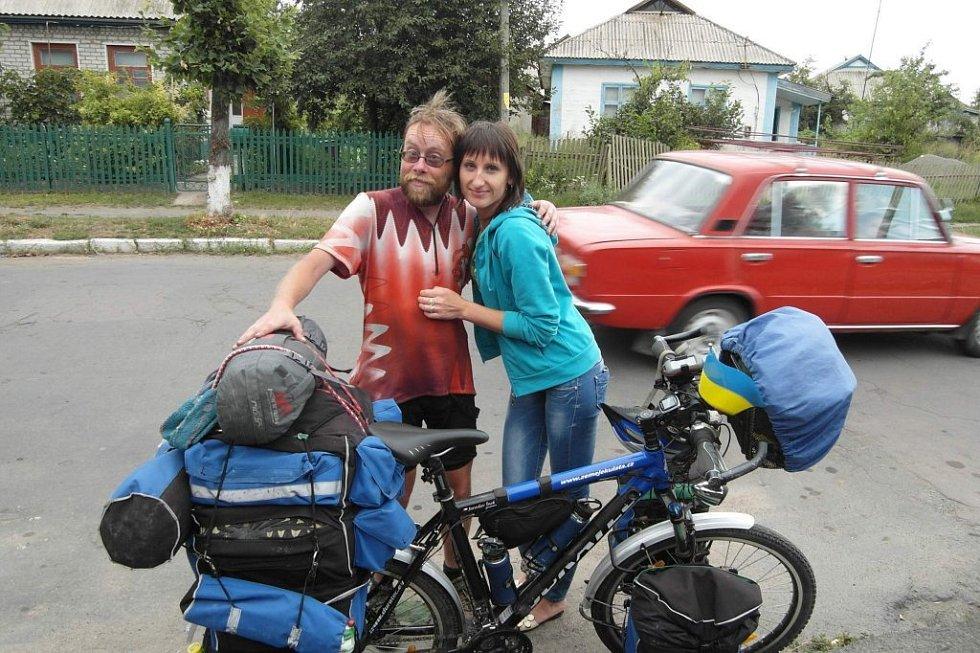Cestovatel Jaroslav Král alias Šnek se po dvouapůlleté cestě po světě vrátil domů