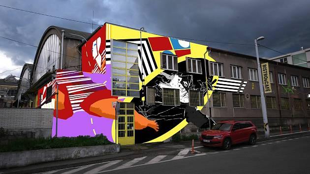 V pondělí 14. června začne v Plzni 2. ročník Street Art Festivalu Wallz. Návrh realizace Sutnarky, která vznikne v areálu DEPO2015.