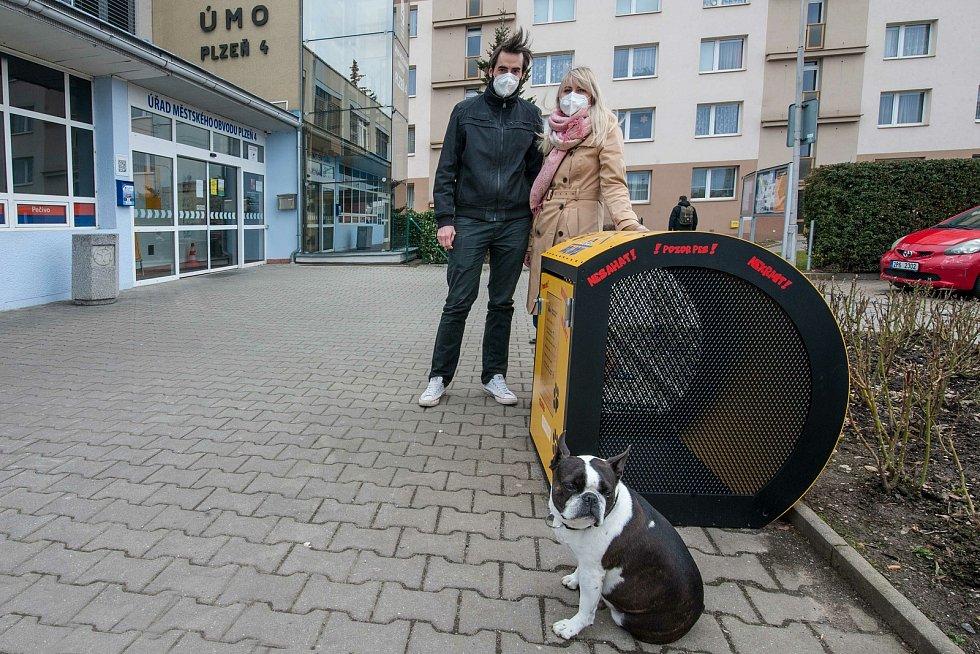 Plzeň, Doubravka, Dog Dock, manželé Koželuhovi.