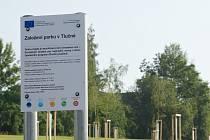 Založení lesoparku v Tlučné.