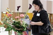 Soutěž ve vazbě a aranžování květin