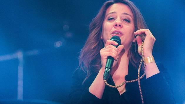 Aneta Langerová získala během večera celkem tři ceny a publiku také zahrála