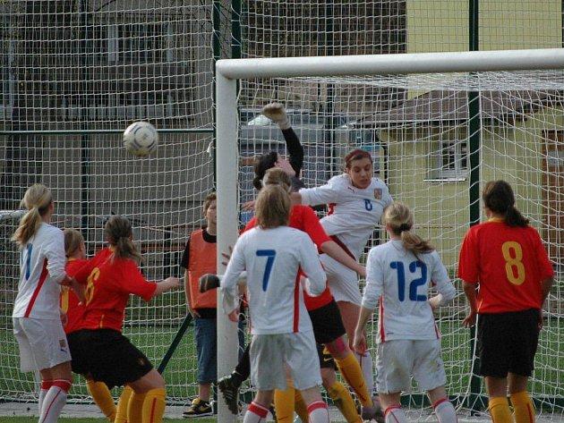 Belgie U17 – Česká republika U17 1:0