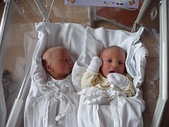 Ella (2,79 kg, 50 cm) se narodila 7. 1. v 8:36 ve FN v Plzni. O minutu později se narodil Kryštof (2,67 kg, 47 cm).  Na světě je přivítali rodiče Veronika a Martin Jiránkovi z Plzně