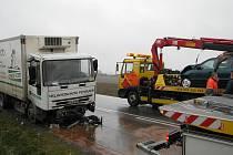 Dopravní nehoda mezi Chválenicemi a Losinou na jižním Plzeňsku