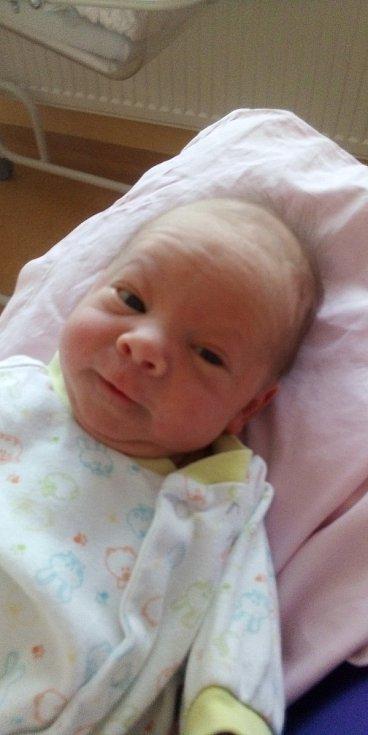 Tobiáš Šramko z Hradešic u Horažďovic se narodil v klatovské porodnici 1. května v 6:25 hodin rodičům Milče a Ivošovi. Po nečekaném příchodu na svět vážil rodičů prvorozený syn 2850 gramů a měřil 48 centimetrů.
