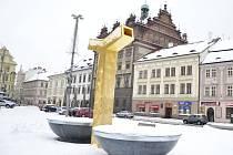 Plzeň zahalil sníh