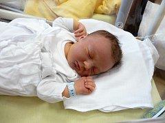 David (3,91 kg, 53 cm) přišel na svět 25. března ve 13:45 ve Fakultní nemocnici v Plzni. Ze svého prvorozeného syna se radují rodiče Hana a Martin Šůsovi z Plzně.