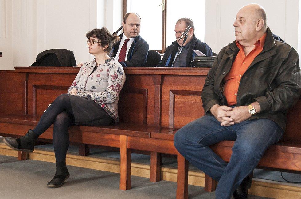 Padělatelé historických obrazů před soudem, Plzeň