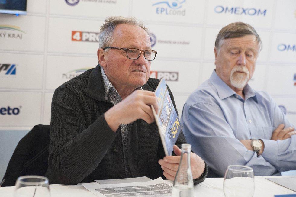 Předseda Aeroklubu Plasy Vladimír Dlouhý