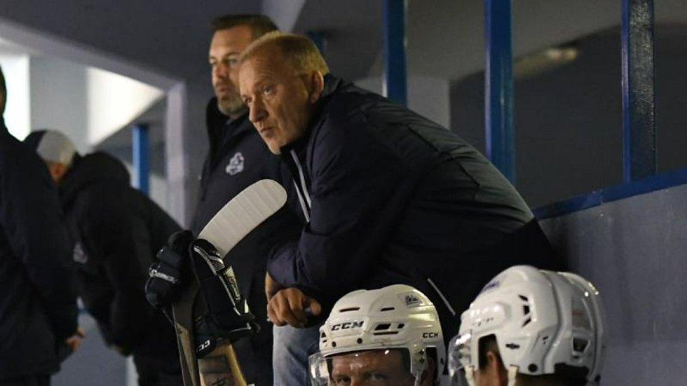 Václav Baďouček trénoval poslední tři roky hokejisty Vrchlabí.