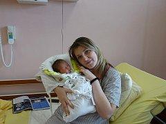 Pavlína (3,57 kg, 50 cm) se narodila 17. 2. ve FN v Plzni. Na světě ji přivítali rodiče Ivana Mlejnková a David Hošek a sourozenci Jindra (10) a Fanda (3,5) z Mariánských Lázní
