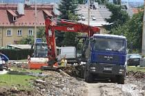 Rekonstrukce tramvajové trati na Košutku