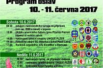 Program oslav 100 let TJ Sokol Plzeň Letná