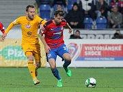FC Viktoria Plzeň - FK Dukla Praha. Na snímku vpravo Andreas Ivanschitz