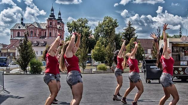 Přeštické náměstí, kde město pořádá řadu kulturních akcí
