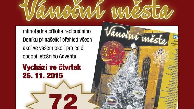 Příloha Deníku Vánoční města