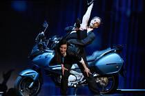 Jarmila Dycková (Carmen) a Michal Kováč (Escamillo) při zkouškách baletu Carmen