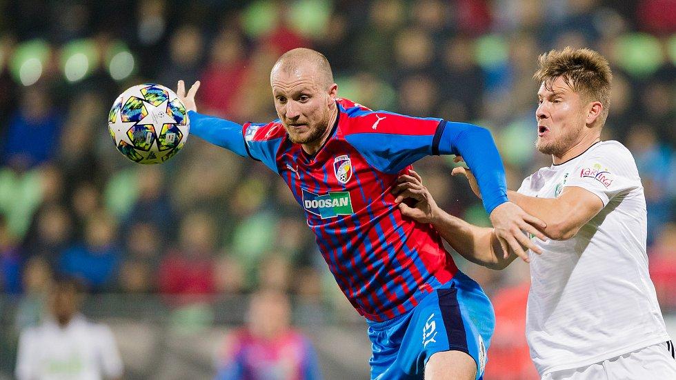 Útočník Michael Krmenčík vyrovnával v 68. minutě na konečných 1:1, v posledních čtyrech zápasech dal pět branek.