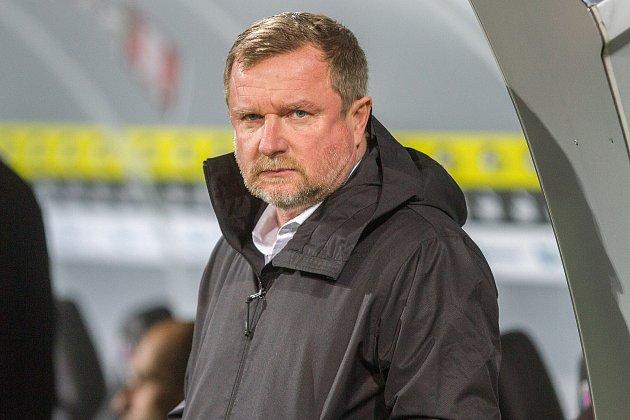 Trenér FC Viktora Plzeň Pavel Vrba.