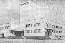 Pravda, 7. prosince 1967. Pohled na novou průmyslovou velkopekárnu v Plzni.