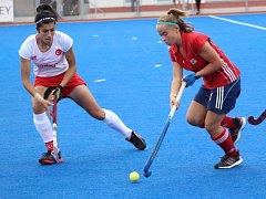 Litická dorostenka Lucie Duchková se  na postupu českých pozemních hokejistek v prvním kole olympijské kvalifikace podílela dvěma góly.