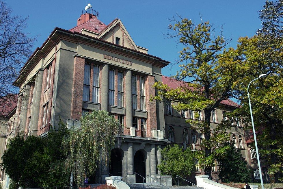 Budovy Lékařské fakulty v Plzni - Pavlovův ústav.