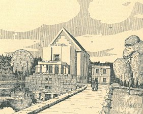 Hanuš Zápal navrhl i plzeňské krematorium.