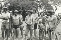 Neckyáda u rybníka Kačerna nedaleko Bukové. První soutěž v roce 1981 navštívilo osm stovek diváků.