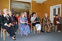 Pět párů se sešlo v Dobřanech, aby oslavilo zlatou svatbu.