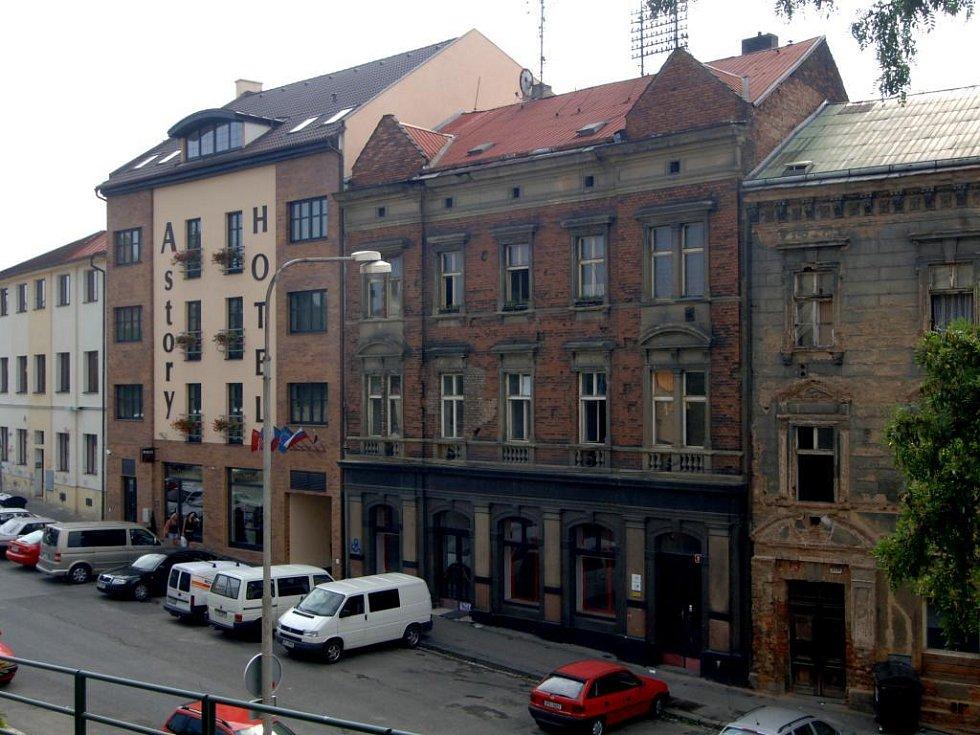Činžovní dům v Nádražní ulici 22