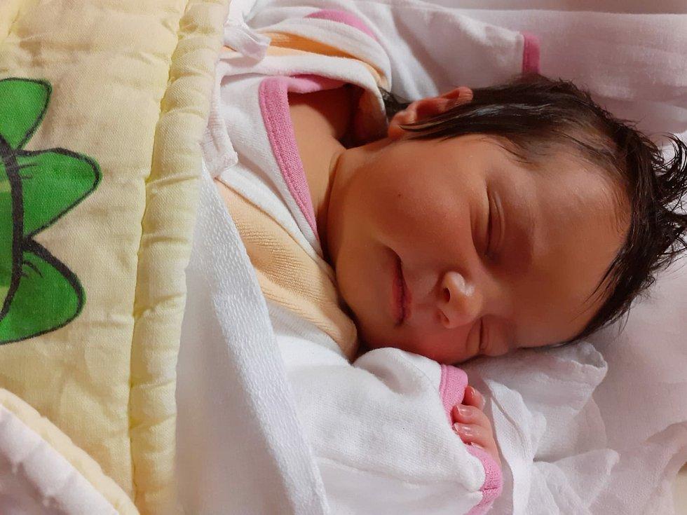Malvína Cloe Drábková z Rokycan se narodila v plzeňské FN Lochotín 24. listopadu 2020 v 11:35 hodin (4000 g, 51 cm) maminkám Maky a Rousie.