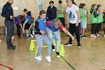 Děti z blatnické školy soutěžily.