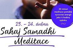 Sahaj Samadhi Meditace v Plzni.