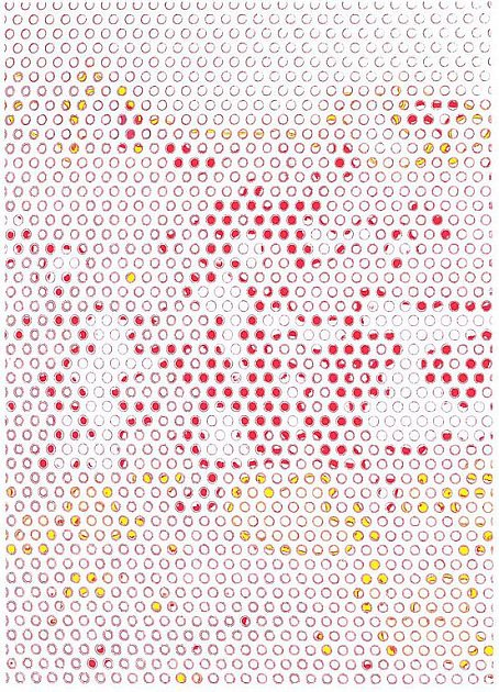 Plzeňský výtvarník Milan Maur je jedním ze čtyř protagonistů nové výstavy v Galerii města Plzně (na snímku jeho fotografika Na autobusové zastávce, Austrálie, 2009)
