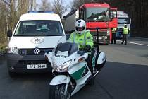 Policisté si pořídili motocykly Honda 1300. Ty by měly rychlé konkurenty snadno dohnat