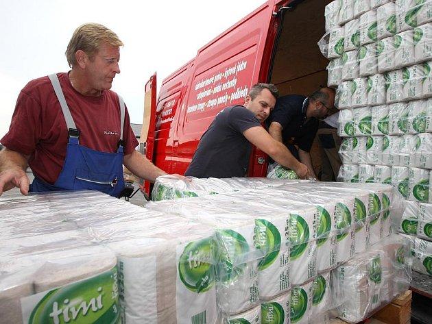 Podnikatelé z Roudné chtějí pomoci lidem, které na Moravě postihla povodeň