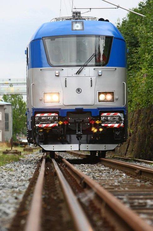 Škoda Transportation představila svoji novou lokomotivu Škoda 109E.