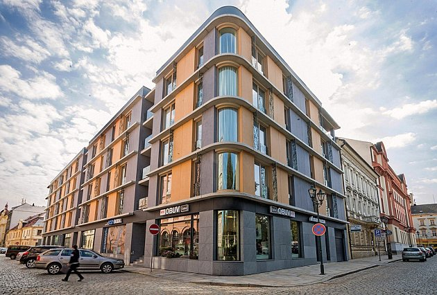 Stavby pro bydlení: Bytový dům Veleslavínova