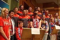 Nahrávání hymny FC Viktoria Plzeň