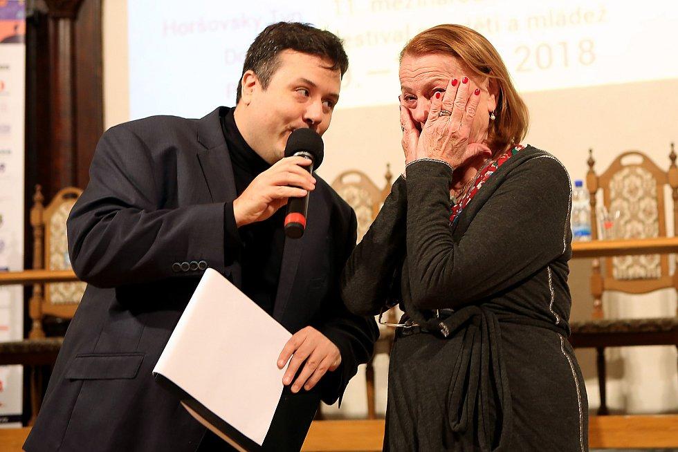 Iva Janžurová obdržela Zlatou rafičku - hlavní cenu festivalu Juniorfest