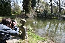 Duch anglické zahrady prostupuje Luftovu zahradu, která se rozprostírá na ploše 2 ha