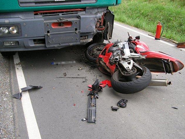 Snímek z tragické nehody u jihoplzeňských Libákovic.