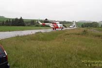 Dopravní nehoda u Kokořova.
