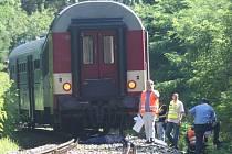 Ve Stodu u Plzně ve středu ráno srazil osobní vlak muže ve věku mezi 50 a 60 lety, který na místě zemřel