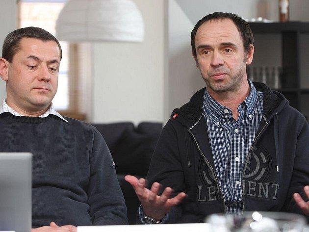 Tomáš Froyda (vlevo) a Petr Forman