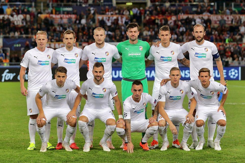 FC Viktoria Plzeň - AS Řím.