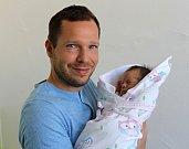 Natálie Landsmanová se narodila 21. července v 8:08 mamince Ivetě a tatínkovi Petrovi z Plzně. Po příchodu na svět v Mulačově nemocnici vážila prvorozená dcerka 2570 gramů a měřila 48 centimetrů.