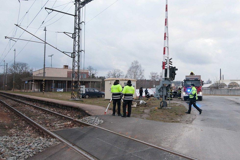 Tragická dopravní nehoda u Chlumčan.